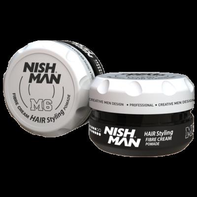 Nish Man Fibre Cream Pomade 100ml