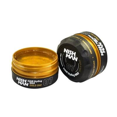 Nish Man Hair Styling Aqua Wax Gold One (07) 150ml