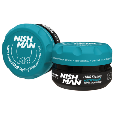 Nish Man Matte Super Hold Wax 100ml