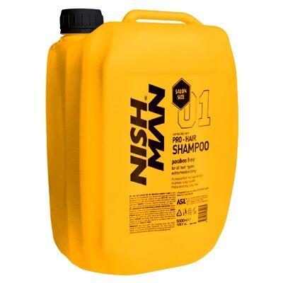 Nish Man Pro-Hair Shampoo Keratin Complex sampon 5000ml (Pro Size)