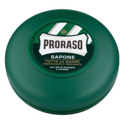 Proraso Shaving Soap in a bowl Green borotválkozó szappan 75ml