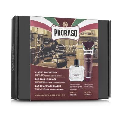 Proraso Duo Gift Pack Red Nourishing Cream & Balm