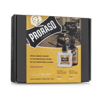 Proraso Duo Gift Pack Beard - Wood & Spice - Wash & Balm