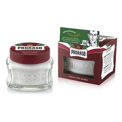Proraso Pre-Shave Cream Red borotválkozás előtti krém100ml