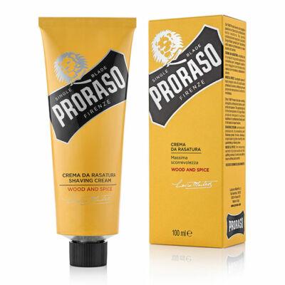 Proraso Shaving Cream Single Blade Wood & Spice borotvkrém 100ml