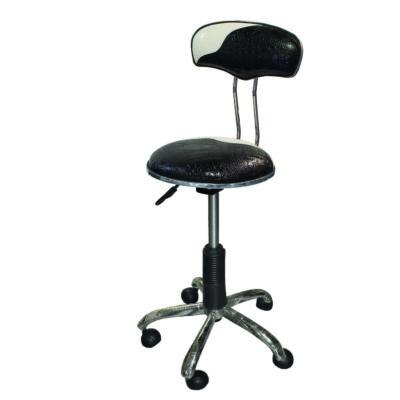 Salon Collection SX-850 háttámlás forgó ülőke (fekete-fehér)