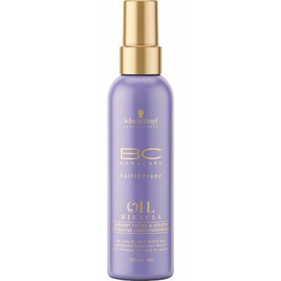 Bonacure Oil Miracle Barbary Fig Oil & Keratin Hajerősítő Spray Balzsam 150ml
