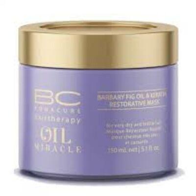 Bonacure Oil Miracle Barbary Fig Oil & Keratin Hajerősítő Pakolás 150ml