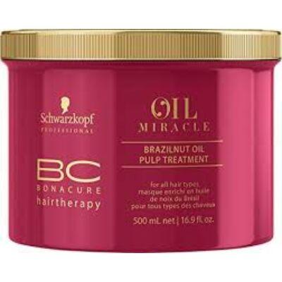 Bonacure Oil Miracle Brazilnut Oil Pulp Treatment Hajpakolás 500ml
