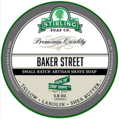 Stirling Shaving Soap Baker Street 170ml