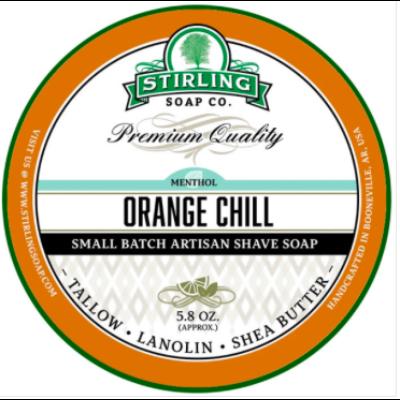 Stirling Shaving Soap Orange Chill 170ml