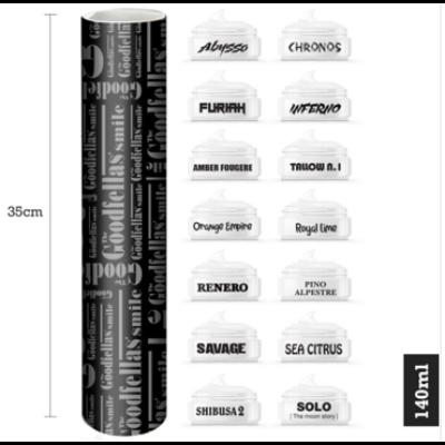 Tgs The Tube – 14 Shaving Soap samples (10ml.x 14)