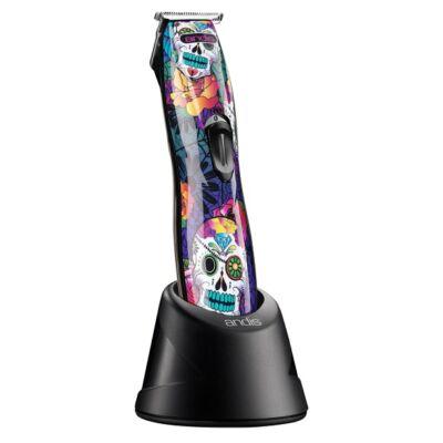 Andis Slimline® Pro Li T-Blade Trimmer Sugar Skull vezeték nélküli kontúrvágó