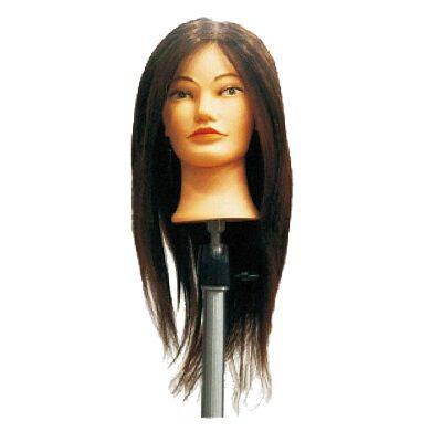Babafej eredeti hajjal 45-50cm + asztali tartó