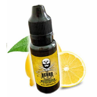 The Beard and the Wonderful Beard Oil Lemongrass15ml