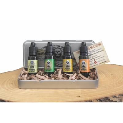 The Beard and the Wonderful Beard Oil Set (4 x 15ml)