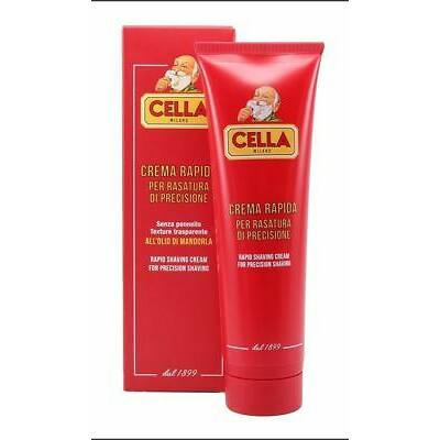 Cella Milano Almond Oil Rapid Precision Shaving Cream 150ml