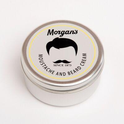 Morgan's Moustache & Beard Cream 75ml