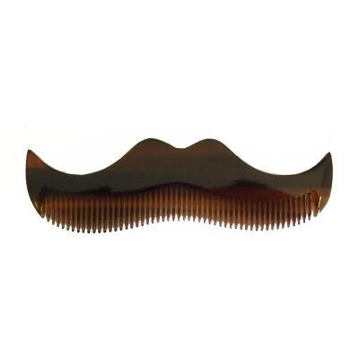 Morgan's Tortoise Shell Comb (moustache/beard)