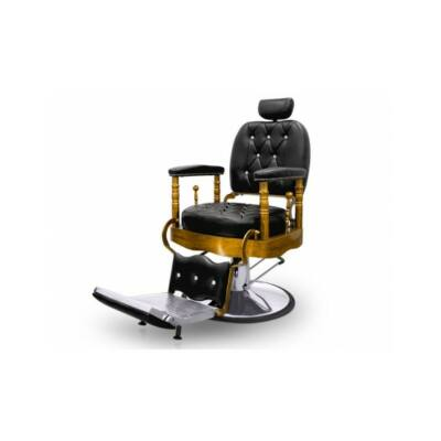 "Barber Chair - borbélyszék ""The King's Chair"" Black"
