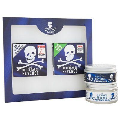 The Bluebeards Revenge Shaving Cream & Post-Shave Kit
