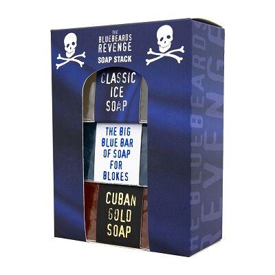 The Bluebeards Revenge Soap Stack for Blokes (3 x 175g) szappan szett