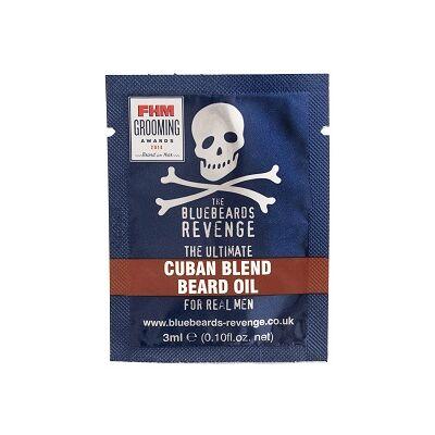 The Bluebeards Revenge Cuban Blend Beard Oil termékminta 3ml