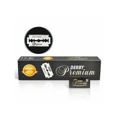 Derby Premium DE razor blades borotvapenge 100db (20x5db)