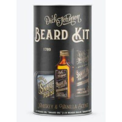 Dick Johnson Beard Kit Gift Set szakállápoló ajándék szett