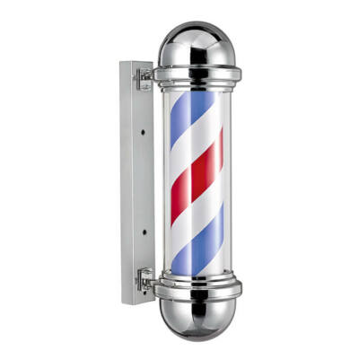 Barber Pole Chrome Compact Size 50cm (forgó)