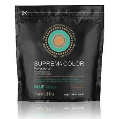 Suprema Color szőkítőpor – kék pormentes 500gr