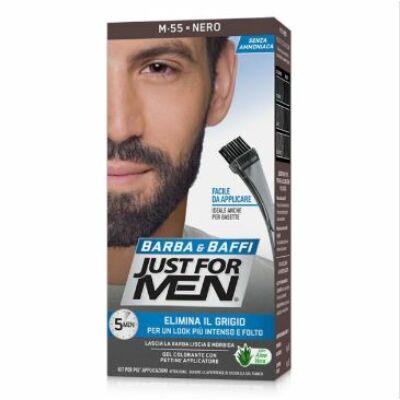 Just For Men Beard Color Black M-55 szakállfesték