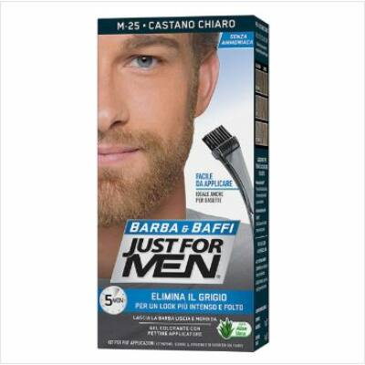 Just For Men Beard Color Light Brown M-25 szakállfesték