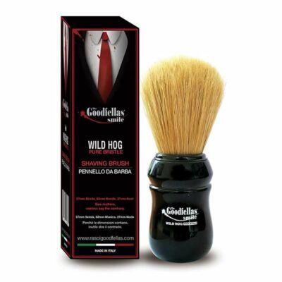 The Goodfellas' Smile Wild Hog Pure Bristle Shaving Brush by Omega borotva pamacs