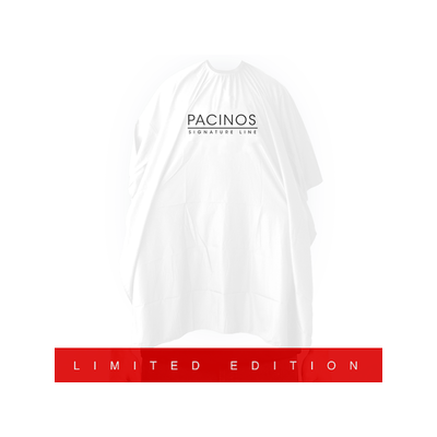 Pacinos Barber Cape Limited Edition (white)