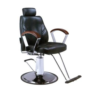 Salon Chair - férfi fodrászszék Tradizionale IV (fekete)