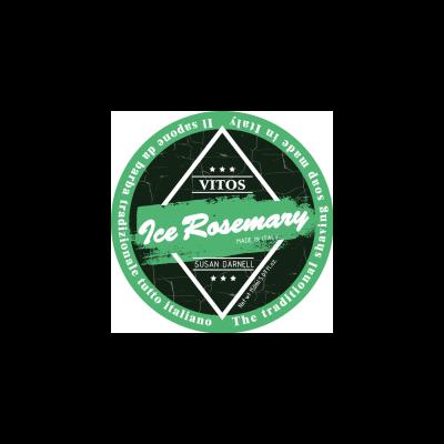 Vitos Shaving Soap Ice Rosemary 150ml
