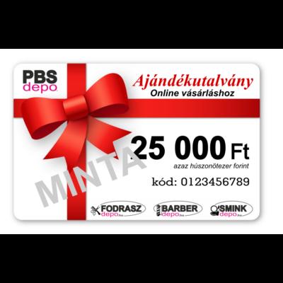 Ajándékutalvány Online Vásárláshoz - 25000Ft